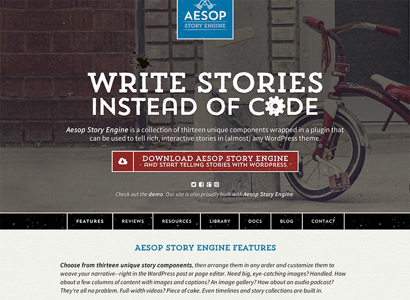 Aesop Story Engine