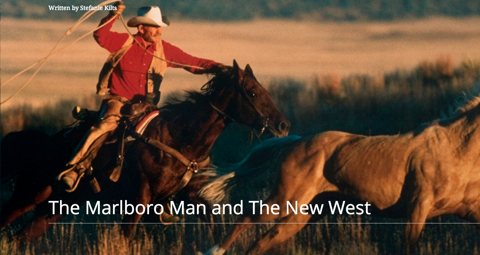 the marlboro man the appeal of the top advertising icon of the century Advertising uses distinct signs to appeal to the human subconscious and send across the desired message semiotic analysis of the marlboro ad sheds light on some these signs and their hidden meanings.