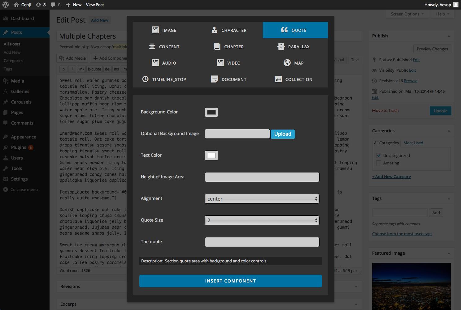 aesop-screenshot